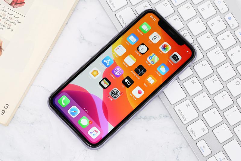 Điện thoại iPhone 11 64GB | Thiết kế thời trang