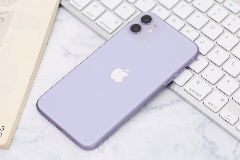 Điện thoại iPhone 11 64GB | Thiết kế cụm camera kép ở mặt sau