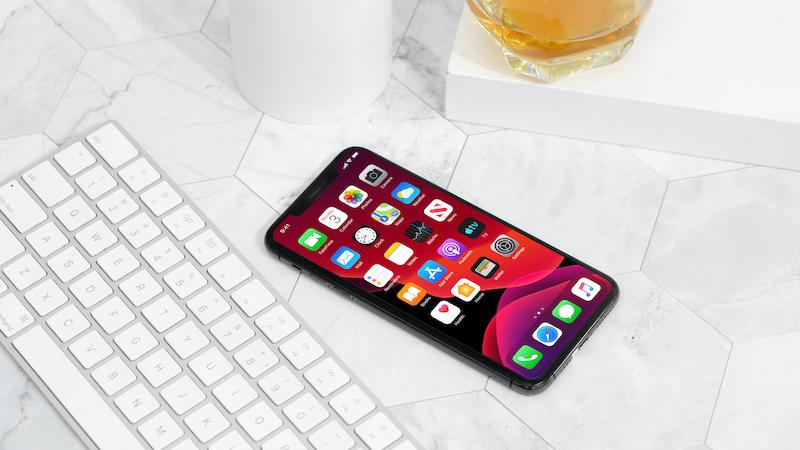 Điện thoại iPhone 11 Pro Max 64GB | Giao diện màn hình chính