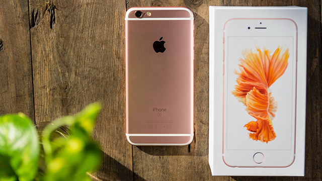 Điện thoại iPhone 6s nay đã có phiên bản màu vàng hồng