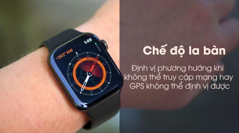 Xác định phương hướng với Apple Watch S5 LTE 44mm